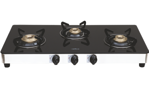 773 CT VETRO - 3 Burner Glass Cooktops