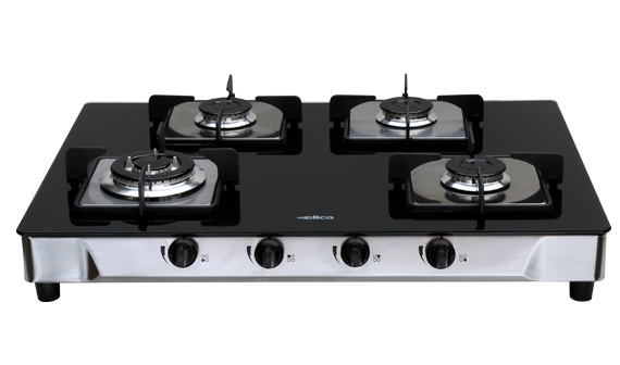 ITALIAN 4 B SSP - 4 Burner Glass Cooktops