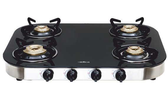 TURNO 654 CT VETRO - 4 Burner Glass Cooktops