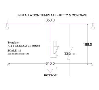 Concave ETB HE LTW 60 BK TC4V LED